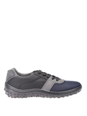 Car Shoe: trainers - Bicolour technical fabric sneakers