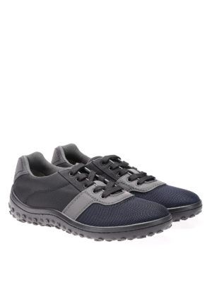 Car Shoe: trainers online - Bicolour technical fabric sneakers
