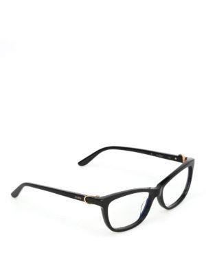 CARTIER: Occhiali - Occhiali da vista in acetato nero