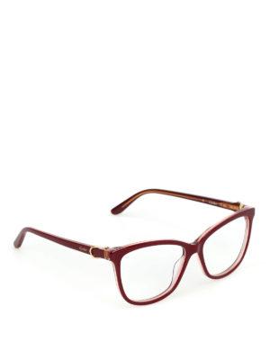 CARTIER: Occhiali - Occhiali da vista in acetato bordeaux