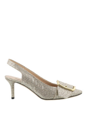 Casadei: court shoes - Alexa slingback pumps