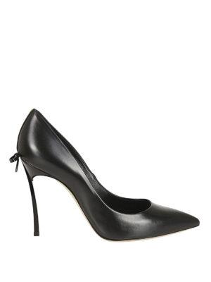 Casadei: scarpe décolleté - Décolleté Blade con piccolo fiocco