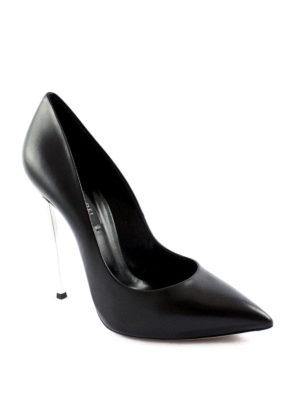 Casadei: court shoes online - Blade nappa pumps
