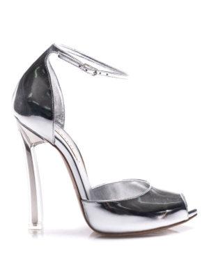 Casadei: sandali - Sandali Barbarella a punta aperta