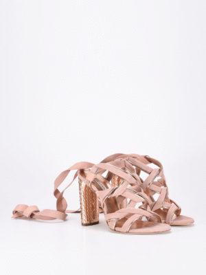 Casadei: sandals online - Pandora suede sandals