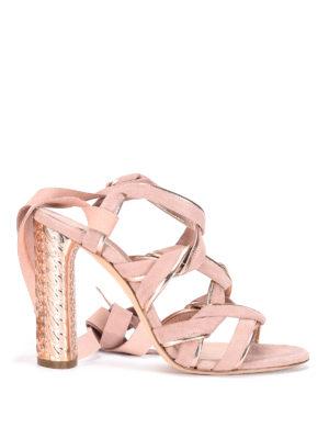 Casadei: sandals - Pandora suede sandals
