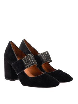 Castaner: court shoes online - Velvet court shoes