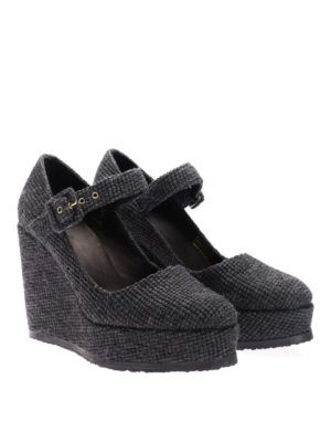 Castaner: court shoes online - Wool Mary Jane