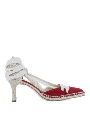 CASTANER: scarpe décolleté - Décolleté rosse by Manolo Blahnik