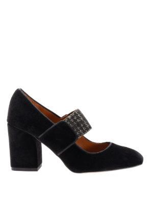 Castaner: court shoes - Velvet court shoes