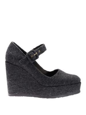 Castaner: court shoes - Wool Mary Jane