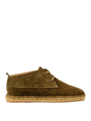 CASTANER: scarpe stringate - Stringate Bruno in camoscio