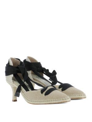 CASTANER: scarpe décolleté online - Décolleté beige by Manolo Blahnik