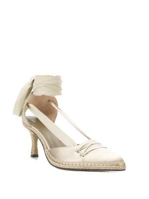 CASTANER: scarpe décolleté online - Décolleté avorio Manolo in satin