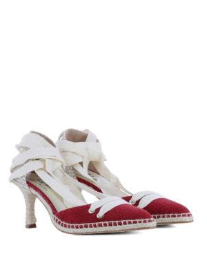 CASTANER: scarpe décolleté online - Décolleté rosse by Manolo Blahnik
