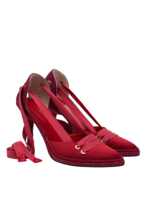 CASTANER: scarpe décolleté online - Décolleté rubino by Manolo Blahnik