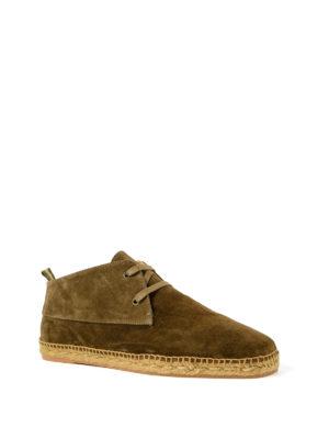 CASTANER: scarpe stringate online - Stringate Bruno in camoscio