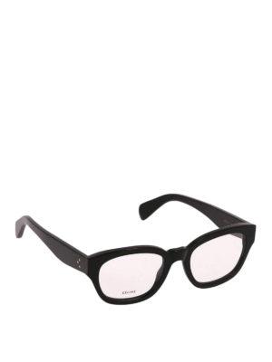 CELINE: Occhiali - Occhiali da vista neri rettangolari