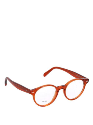 CELINE: Occhiali - Occhiali da vista rotondi in acetato