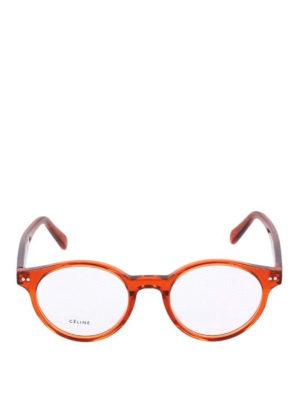 CELINE: Occhiali online - Occhiali da vista rotondi in acetato