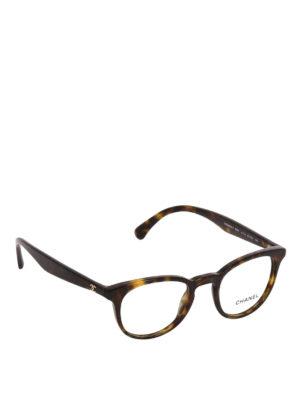 CHANEL: Occhiali - Occhiali da vista retrò tartarugati