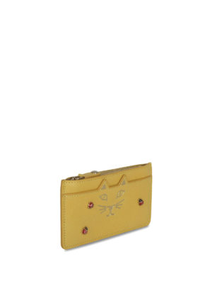 Charlotte Olympia: wallets & purses online - Kitty and ladybug coin purse
