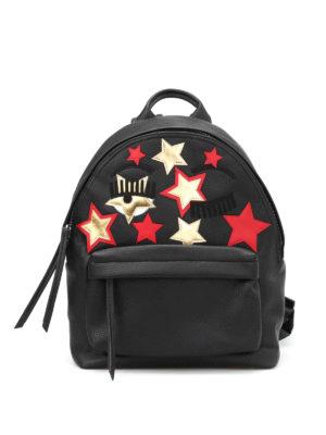 Chiara Ferragni: backpacks - Faux leather Flirting backpack