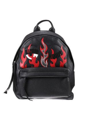 Chiara Ferragni: backpacks - Flirting and flame mini backpack