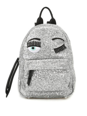 Chiara Ferragni: backpacks - Flirting glittered backpack