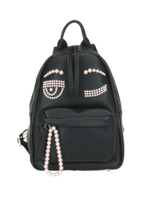 Chiara Ferragni: backpacks - Flirting pearl backpack