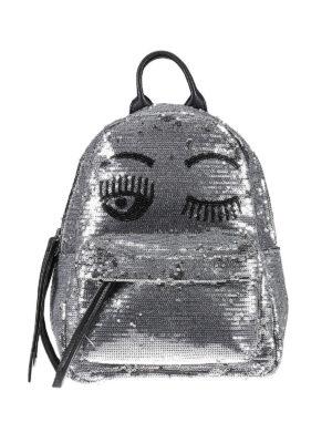 Chiara Ferragni: backpacks - Flirting sequined backpack