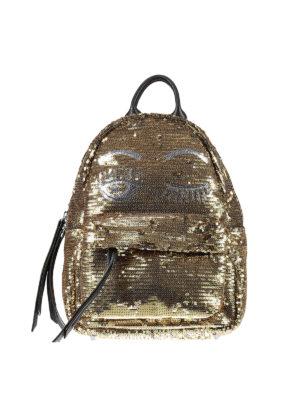 Chiara Ferragni: backpacks - Flirting sequined mini backpack