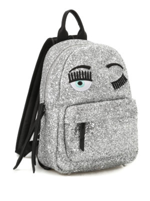 Chiara Ferragni: backpacks online - Flirting glittered backpack