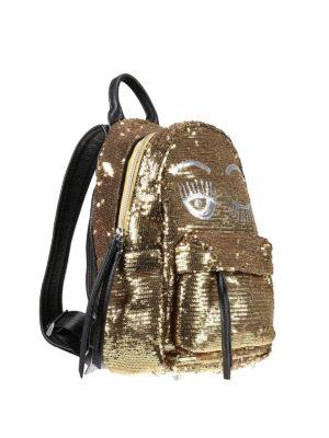 Chiara Ferragni: backpacks online - Flirting sequined mini backpack