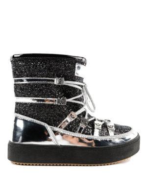 CHIARA FERRAGNI: stivali - Stivali da neve con glitter
