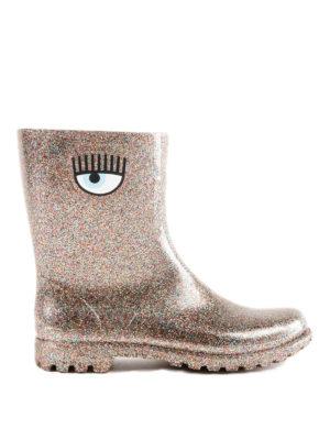 CHIARA FERRAGNI: stivali - Stivaletti da pioggia Flirting rosa