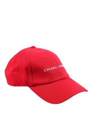 CHIARA FERRAGNI: cappelli - Cappellino in cotone Active