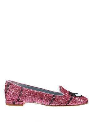 Chiara Ferragni: Loafers & Slippers - Flirting glittered slippers