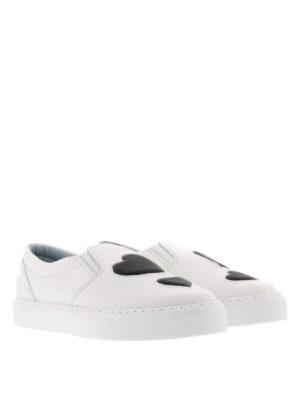 Chiara Ferragni: Loafers & Slippers online - #findmeinwonderland heart slip-ons