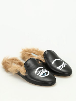 Chiara Ferragni: Loafers & Slippers online - Flirting faux fur insert slippers