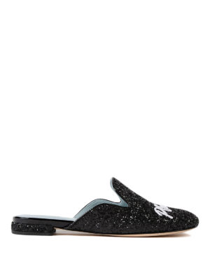 Chiara Ferragni: mules shoes - Chiara Suite glittered mules