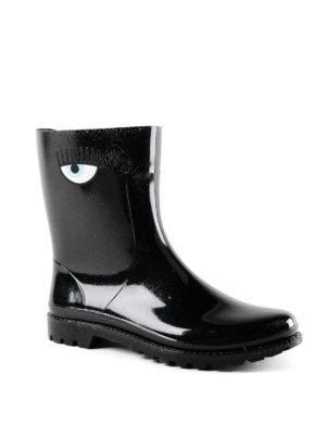 CHIARA FERRAGNI: stivali online - Stivaletti da pioggia Flirting neri