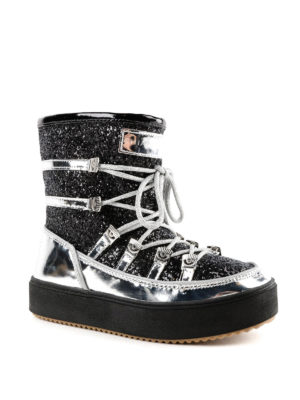 CHIARA FERRAGNI: stivali online - Stivali da neve con glitter