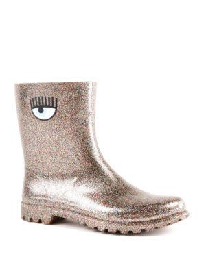 CHIARA FERRAGNI: stivali online - Stivaletti da pioggia Flirting rosa