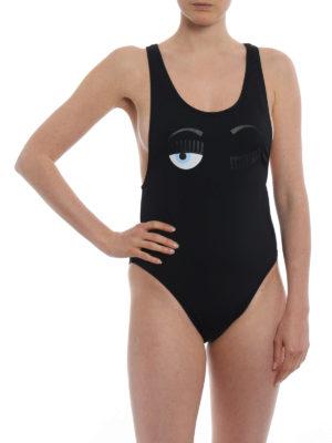 CHIARA FERRAGNI: costumi interi online - Costume intero nero Flirting