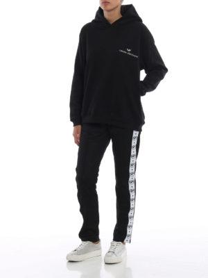 CHIARA FERRAGNI: Felpe e maglie online - Felpa con cappuccio nera Logomania