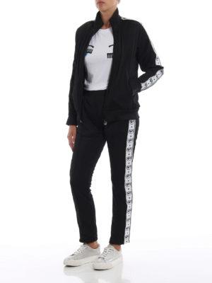 CHIARA FERRAGNI: Felpe e maglie online - Giacca da tuta Logomania con strass