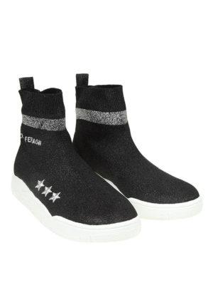 CHIARA FERRAGNI: sneakers online - Sneaker Active in tessuto effetto lurex