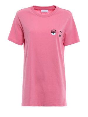 Chiara Ferragni: t-shirts - Flirting Piccolo pink T-shirt
