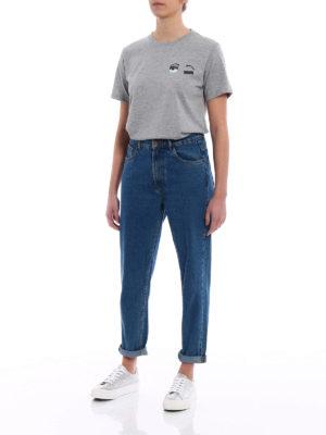 Chiara Ferragni: t-shirts online - Flirting Piccolo grey T-shirt